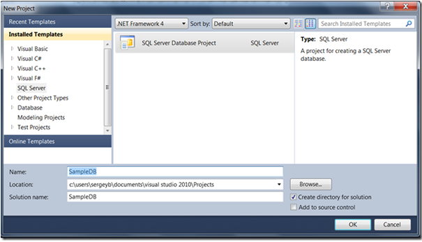 BIDS No More Exist in SQL Server 2012.  (3/4)