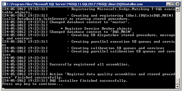 Introduction and Installation of Data Quality Services for Denali (3/6)