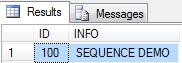 Sequence Vs Identity - SQL Server 2012  (2/2)